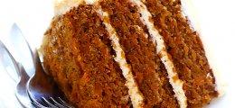 Pastel de zanahoria vegano y sin gluten